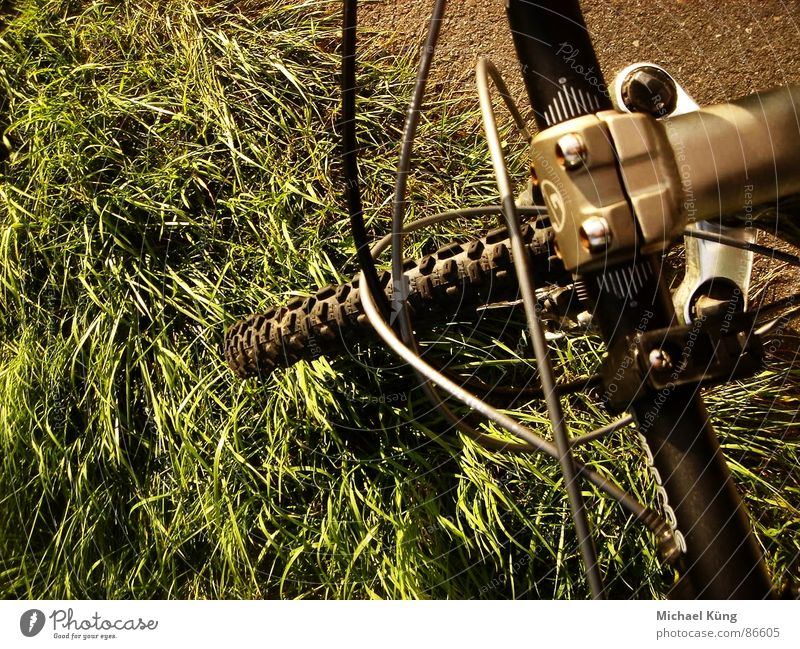 Take a ride Meadow Mountain bike Tire Green Sweep Grass Mountaineering Extreme sports mountain gt Bicycle turf Hunting