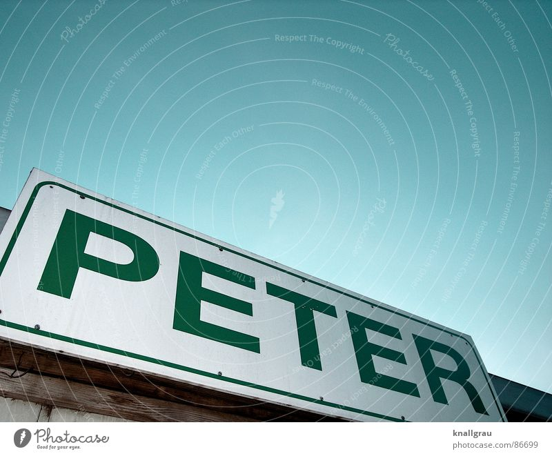 From here Peter is Lettering Eaves Impersonal Bordered Wood Green Dark green Flower House (Residential Structure) Roof Possessions Habitat Home country