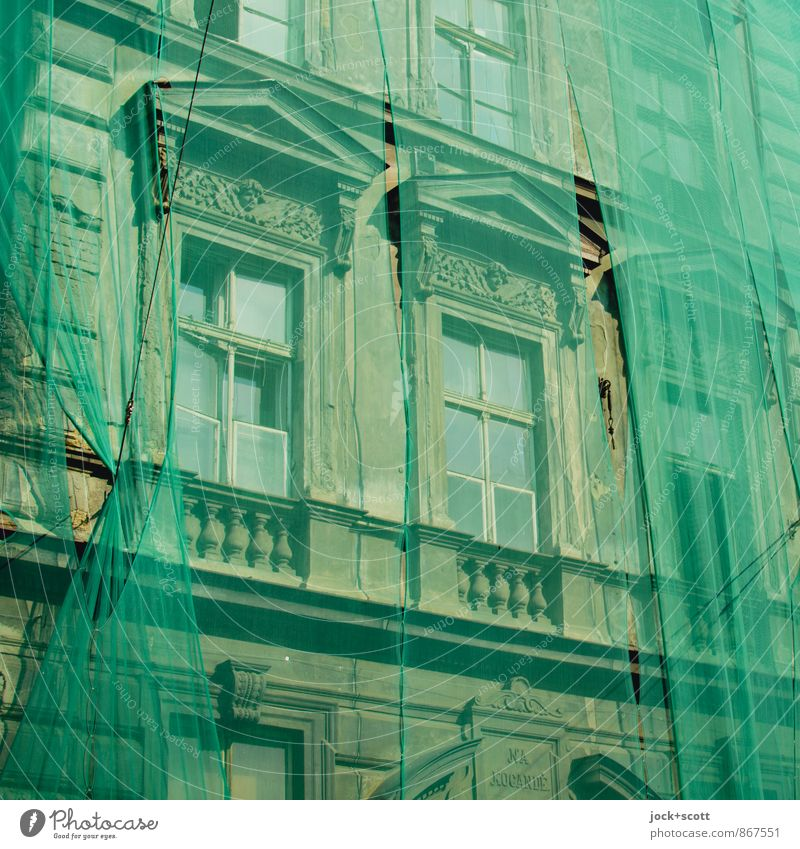 Green Plan City Summer Window Style Time Elegant Beginning Stripe Construction site Planning Historic Net Belief Balcony Sustainability