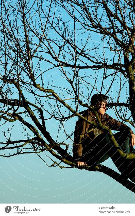 Sky Man Nature Hand Green Summer Leaf Eyes Meadow Warmth Grass Hair and hairstyles Legs Dream Footwear Field