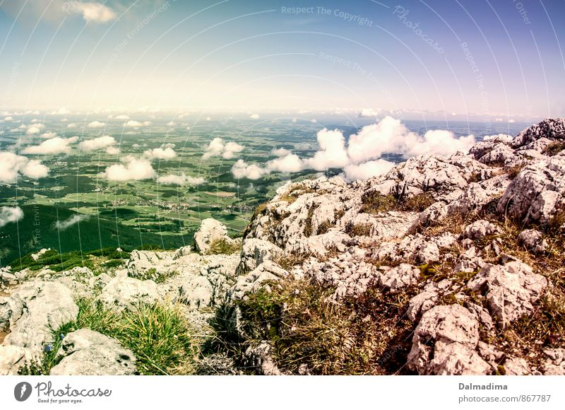 Sky Nature Summer Landscape Clouds Far-off places Environment Mountain Sports Freedom Horizon Air Leisure and hobbies Earth Hiking Tall