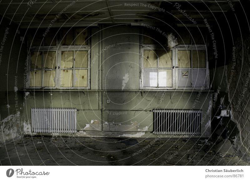 Dark Window Room Fear Derelict Ruin Heater Claustrophobia Decompose Small room