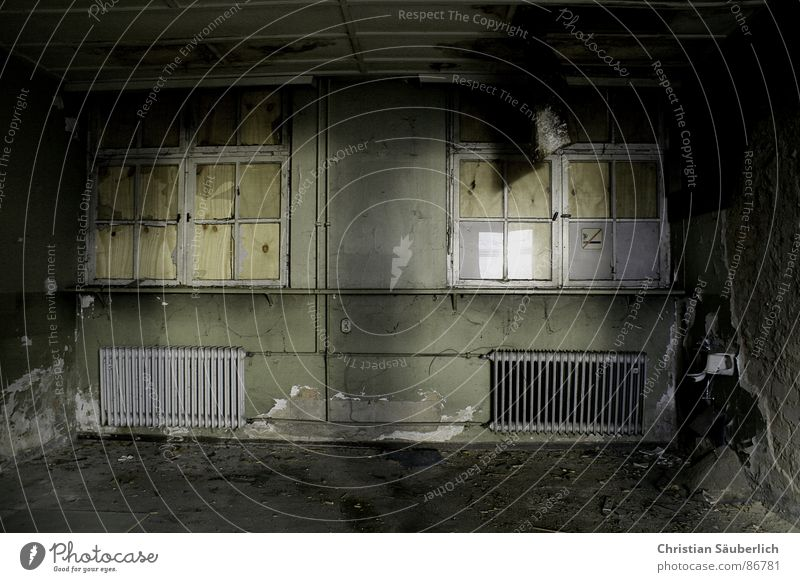THE CHAMBER OF TERROR Ruin Dark Derelict Decompose Window Small room Silent Hill no light Room Fear Heater scared of space Claustrophobia