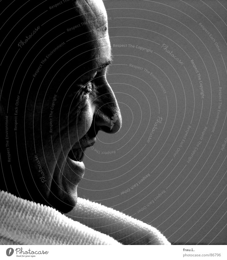 Man Joy Face Laughter Television Wrinkles Media Sunday Portrait photograph Amused Bathrobe Laugh lines
