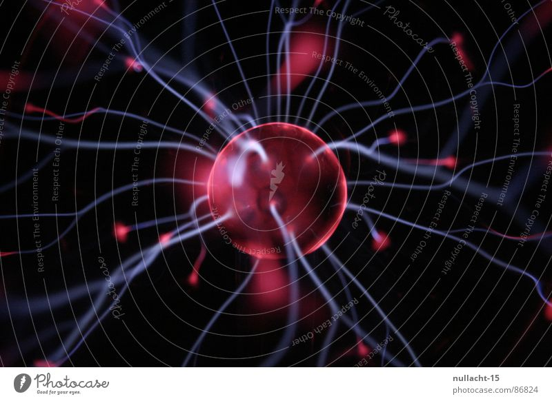 Red Playing Glittering Energy industry Electricity Technology River Stripe Fantastic Sphere Touch Lightning Map Universe Obscure Radiation