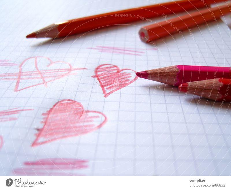cuddly group Crayon Cuddly toy Caress Pen Pencil Love Like Valentine's Day Children's room Drawing pencil Kindergarten Art Betrothal Lovesickness Meet Flirt