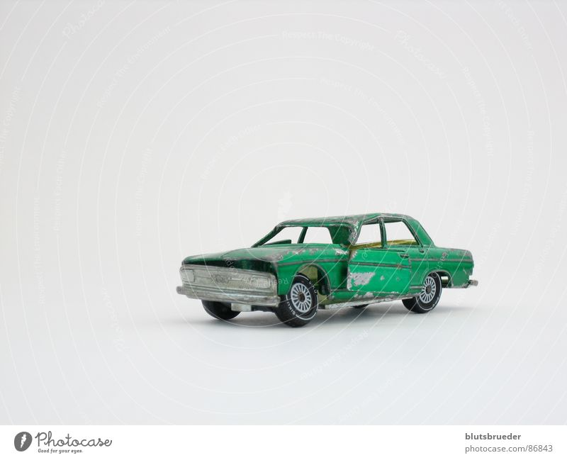 favorite car Green Accident Bulge Broken Transport Car crash Wheel