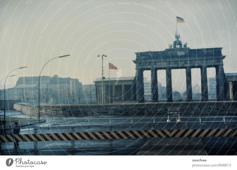 once in germany ..... Town Capital city Deserted Manmade structures Architecture Tourist Attraction Landmark Monument Concrete Old Gigantic Historic Past