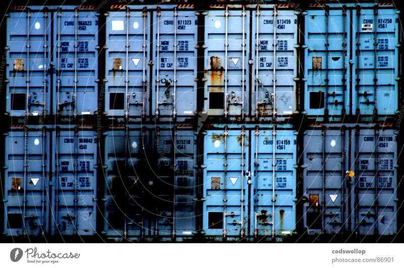 Blue Industry Logistics Harbour Navigation 8 Container Cargo Light blue Container terminal Shipping company