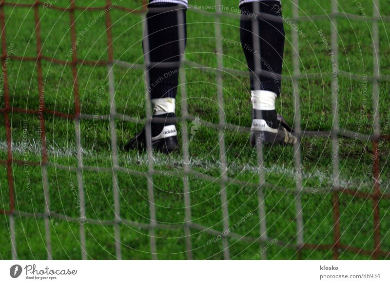 goalkeeper Goalkeeper Stand Sneakers Green League Playing Sporting grounds Sports club Athlete Soccer club Soccer team Sporting event Young man