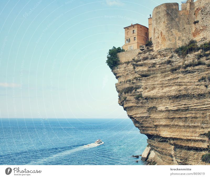 Blue Ocean House (Residential Structure) Beach Window Coast Building Stone Exceptional Rock Horizon Waves Island Hill Driving Bay