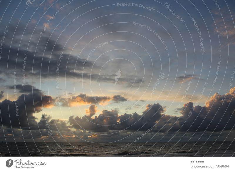 Sky Blue Sun Ocean Clouds Dark Emotions Gray Freedom Exceptional Moody Air Weather Orange Wild Illuminate