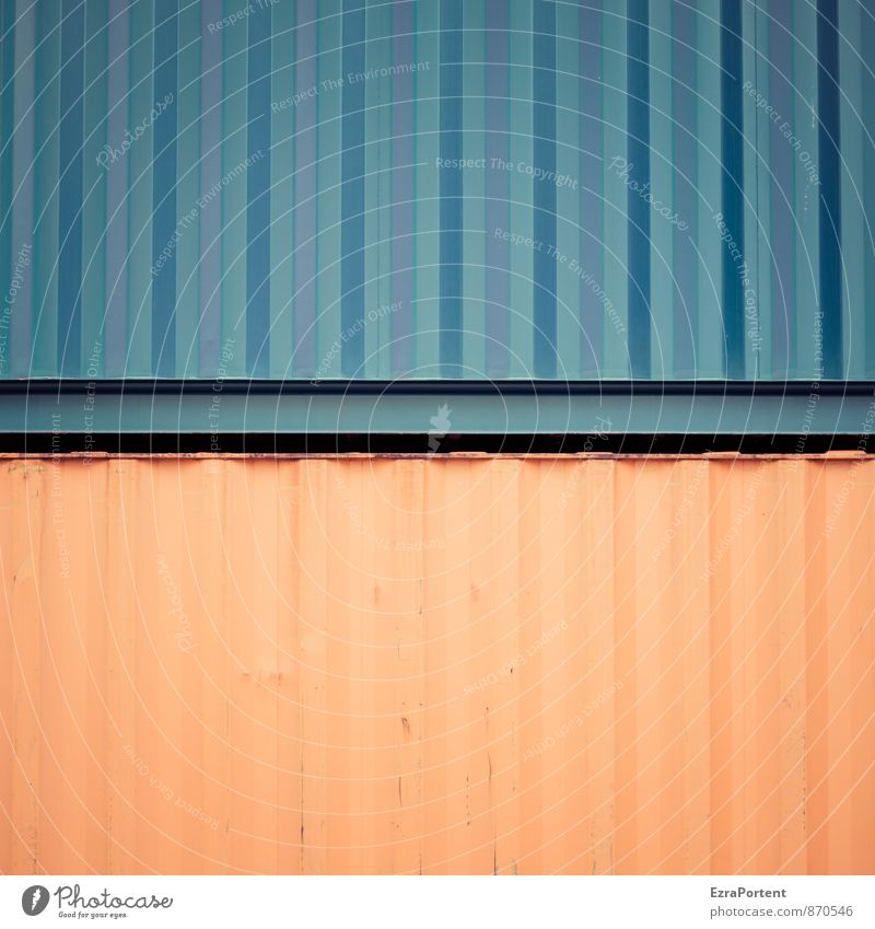 Blue Colour Background picture Line Metal Orange Design Transport Technology Stripe Illustration Graphic Steel Direct Container