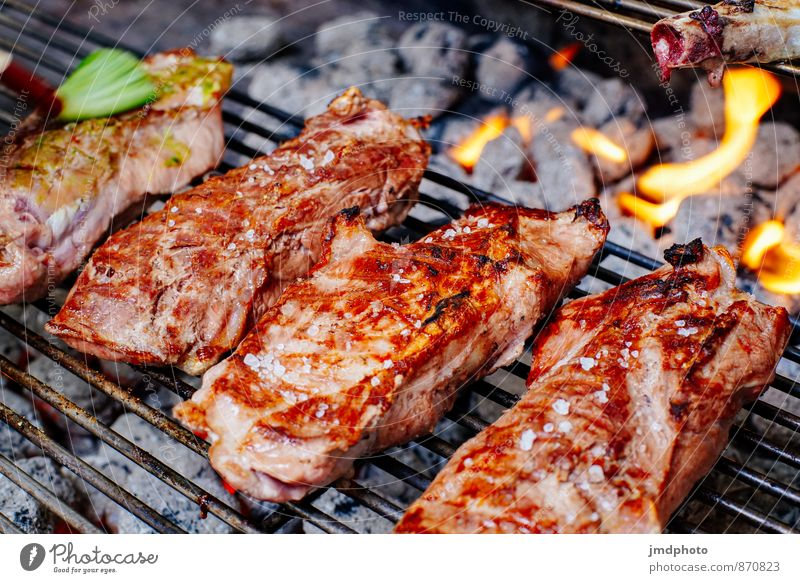 GRILL afterwards Food Meat Dinner Organic produce Slow food Lifestyle Joy Healthy Healthy Eating Camping Garden Feasts & Celebrations Cook Kitchen Gastronomy