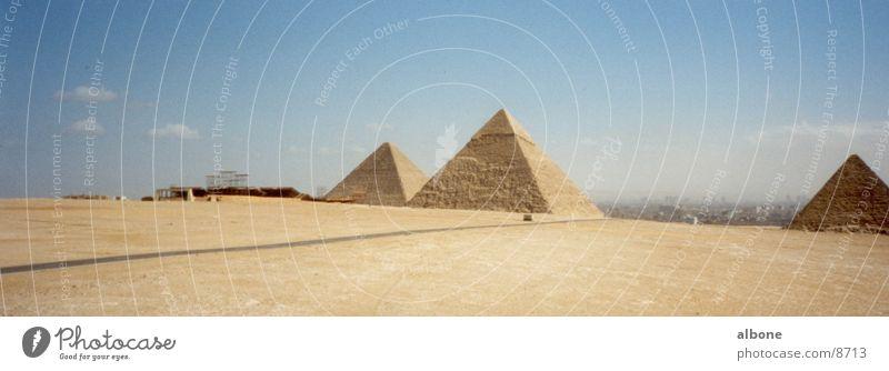 pyramids Egypt Cairo Sandstone Architecture Pyramid