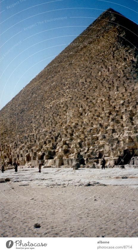 Building Architecture Historic Egypt Pyramid Africa Sandstone Cairo