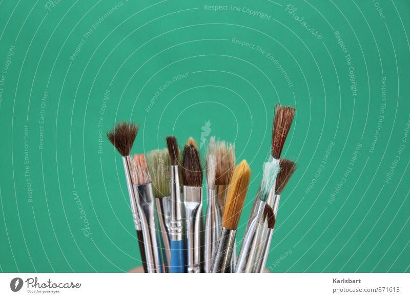 Green Colour Art School Leisure and hobbies Living or residing Design Creativity Idea Painting (action, artwork) Education Painting (action, work)