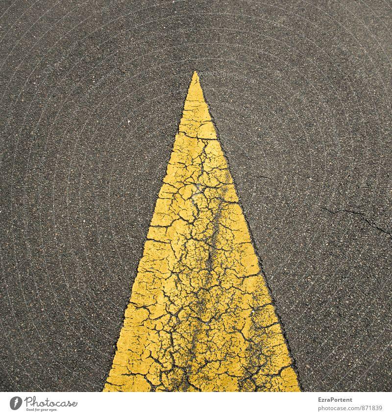 Old City Colour Black Yellow Street Lanes & trails Line Design Transport Esthetic Point Illustration Sign Asphalt Arrow