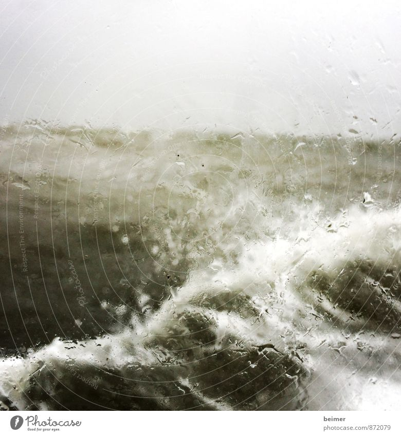 Nature Green White Water Ocean Loneliness Black Gray Rain Fear Power Waves Wind Wet Threat Anger
