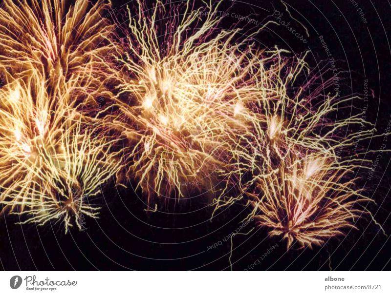 Fireworks orange Explosion Light Club Party Firecracker Orange