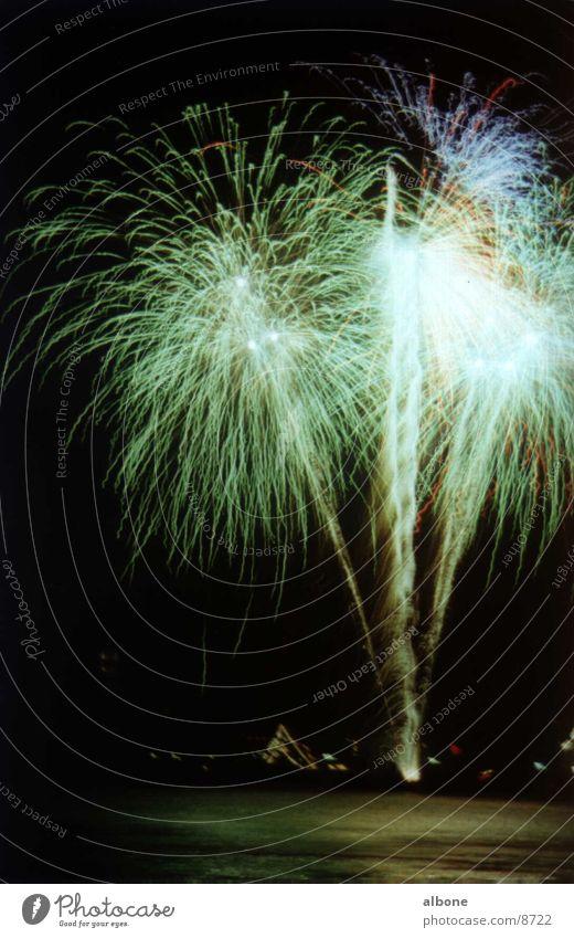 Fireworks green blue Green Explosion Light Club Party Firecracker Blue