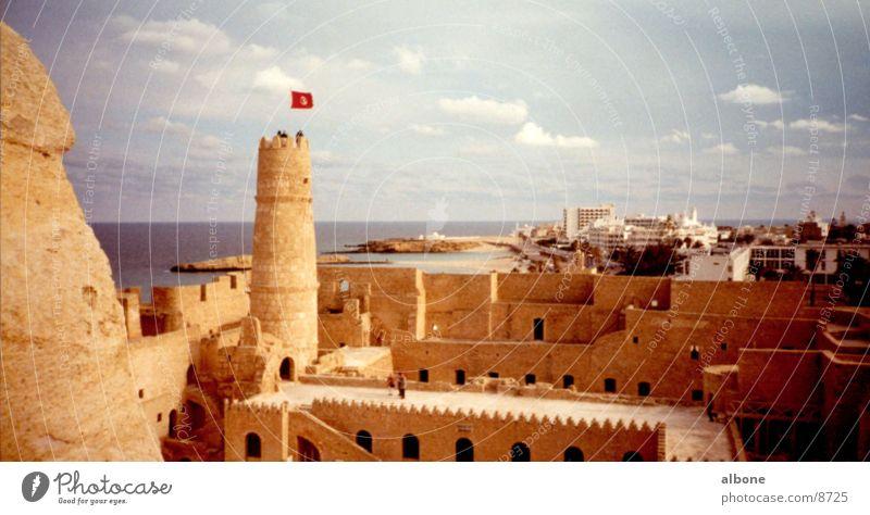 fortress Fortress Sandstone Egypt Architecture Castle