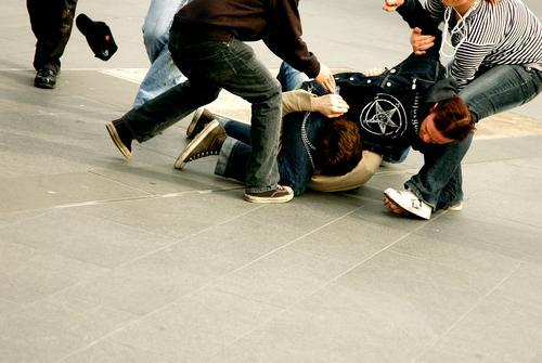 schoolyard Beat Thrash Brutal Stone floor Chastisement Act of violence Anger Aggravation thrash sb. bogeyman castigate sb. Schoolyard brawl Hatred scapegoat