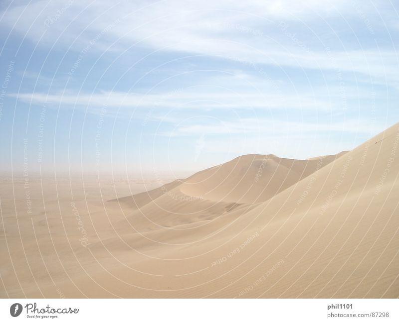 Sun Summer Africa Desert Beach dune Beige Namibia Namib desert