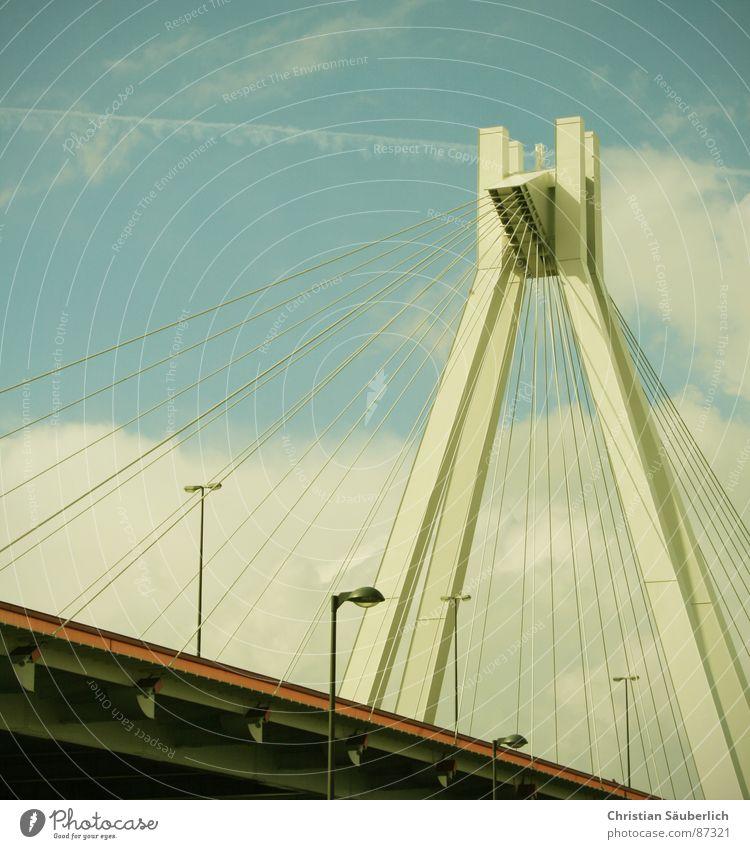 Sky Clouds Bridge Painted Racing sports Pylon Freeway Overpass Ludwigshafen Speedway race