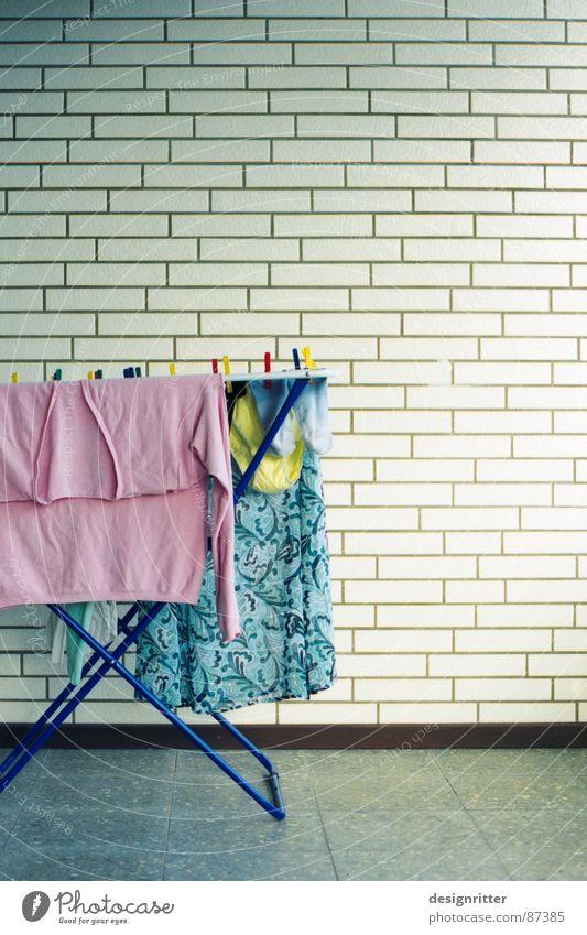 laundry Tumble dryer Laundry Pink Pastel tone Pallid Yellow Underpants Stockings Household wash clothes light socks
