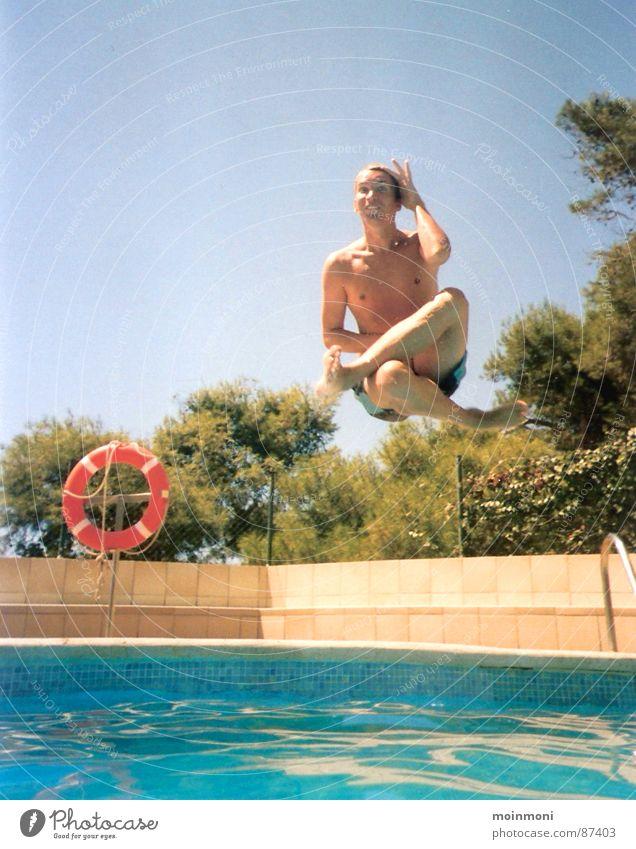 Sun Summer Joy Playing Swimming & Bathing Swimming pool Spain Life belt