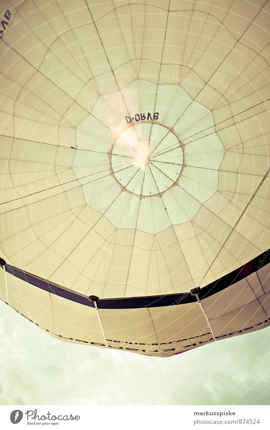 ballooning Lifestyle Leisure and hobbies Hot Air Balloon Balloon flight Balloon basket Balloon lift-off Blaze Impulsion Sunshade Stitching Cloth Driving Flying