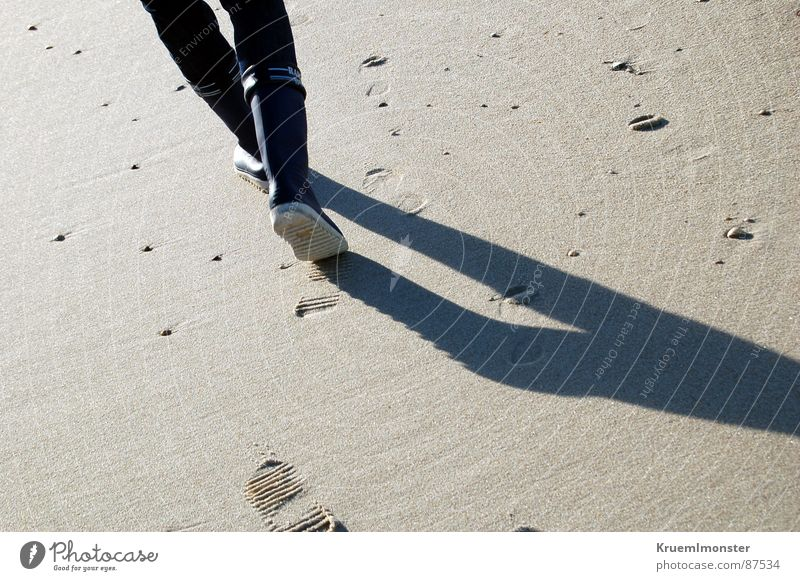 Feet Sand Legs Earth Tracks Sylt Rubber boots
