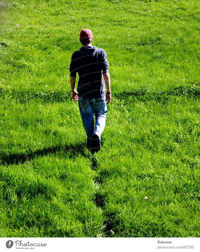 walk away Kleve Meadow Red Green Footprint Soft Wet Damp Juicy Germany Going Deep Flat Grief Effort Grass Germania Boredom Colour lawbreakers Lawn Walking