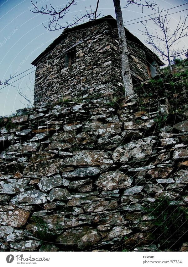 Old Sky Calm Clouds Loneliness Dark Window Mountain Stone Lanes & trails Feasts & Celebrations Small Force Closed Mysterious Derelict