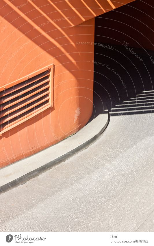 subsoil Orange Highway ramp (entrance) Transport Street Underground garage Parking