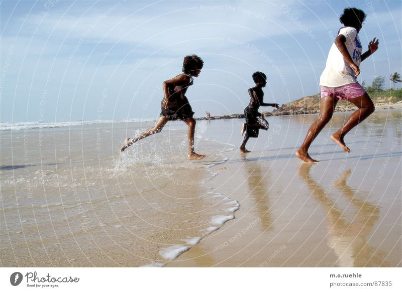 Child Water Ocean Beach Australia Australian Indigenous Aborigine