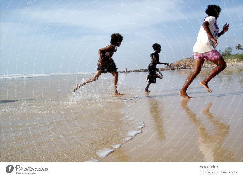 Child Water Ocean Beach Australia Australian Indigenous Aborigine