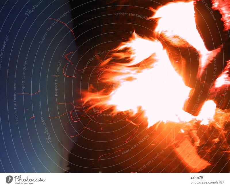 fiery Fireplace Flame