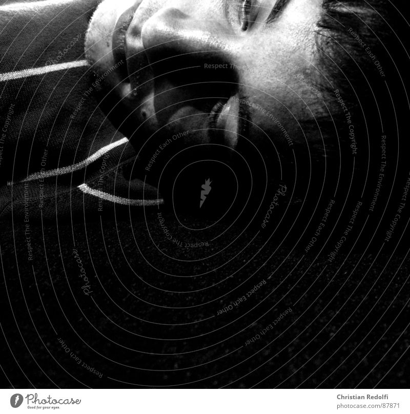 Day Dreams Relaxation Thought Facial hair Carpet Grief Distress Black & white photo Man to you find one self Human being Mouth Eyes eyebrown Hair and hairstyles