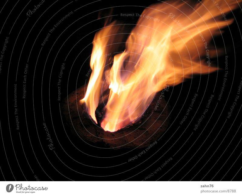 Wood Blaze Things Flame