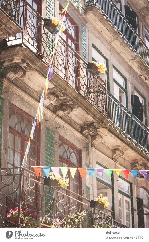 postage Porto Portugal Town Port City Downtown Old town House (Residential Structure) Manmade structures Building Architecture Wall (barrier) Wall (building)