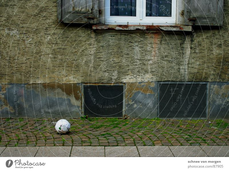 on the sidelines Ball sports Window Playing Cellar airless no air club Infancy
