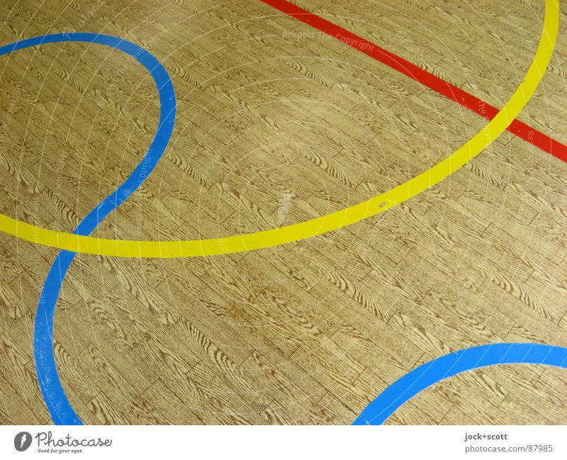 Look closely at the lines, imitation wood Waves Cross Norm Geometry Playing field Meeting point Second-hand Line width RGB Semicircle Curve Arch GDR PVC