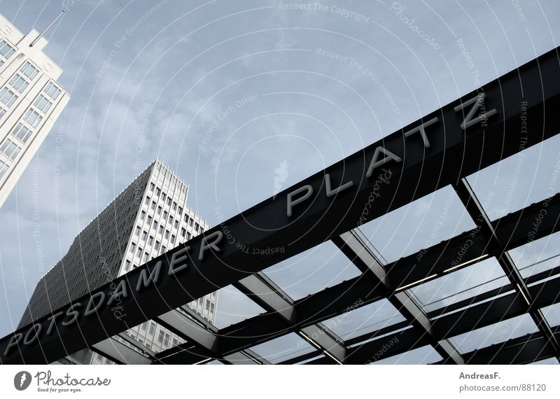 Potsdamer Square Places Potsdamer Platz Sony Center Berlin High-rise Modern Capital city Sky