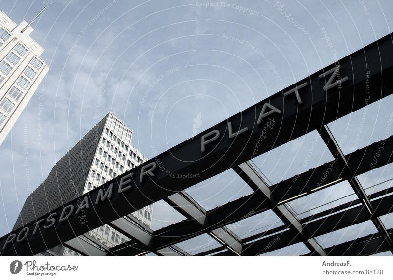 Sky Berlin High-rise Modern Places Capital city Potsdam Sony Center Berlin Potsdamer Platz