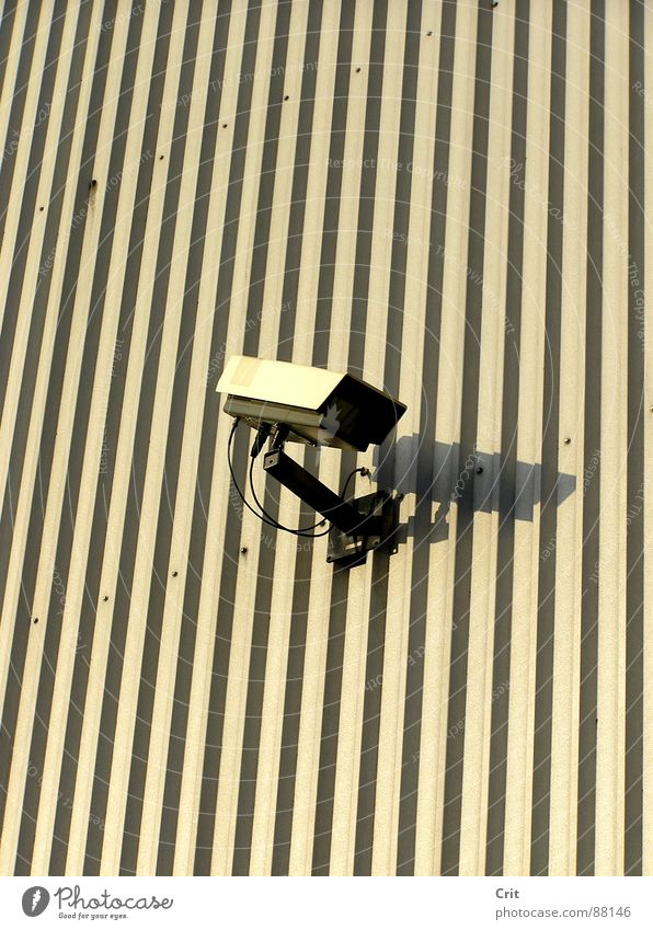 big brother 2 Lake Illegal Safety camera Police state alone watch eye robot Wall (barrier)