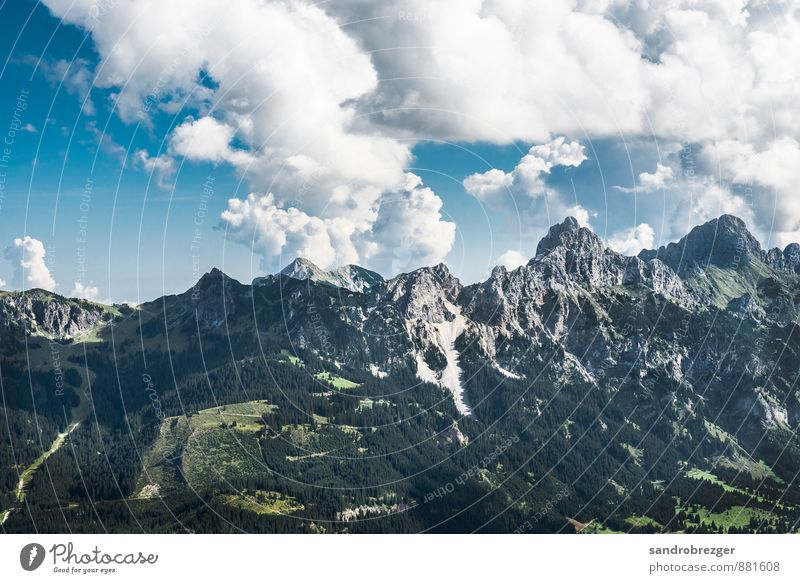 mountain calls Sports Climbing Mountaineering Hiking Environment Nature Landscape Plant Climate Climate change Weather Beautiful weather Hill Rock Alps Peak