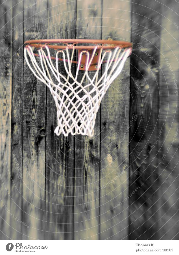 Three points Ball sports Basket Wood Plank Structures and shapes Leisure and hobbies Basketball Net Wooden board Wood grain lensbaby backyard