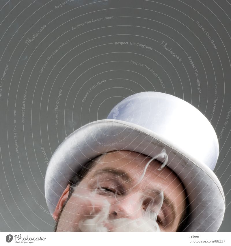 Art Brown Culture Protection Mask Hat Society Smoke Guy Suit Anonymous Criminal Shellfish Ritual Cigar Tails